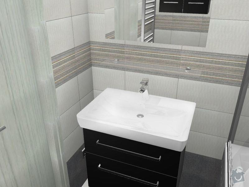 Kompletní rekonstrukce koupelny a toalety: 3D-03