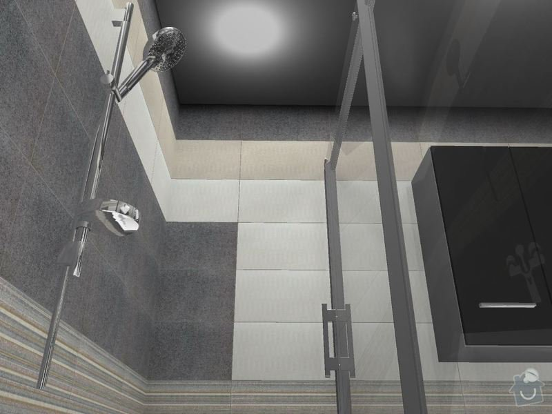 Kompletní rekonstrukce koupelny a toalety: 3D-04