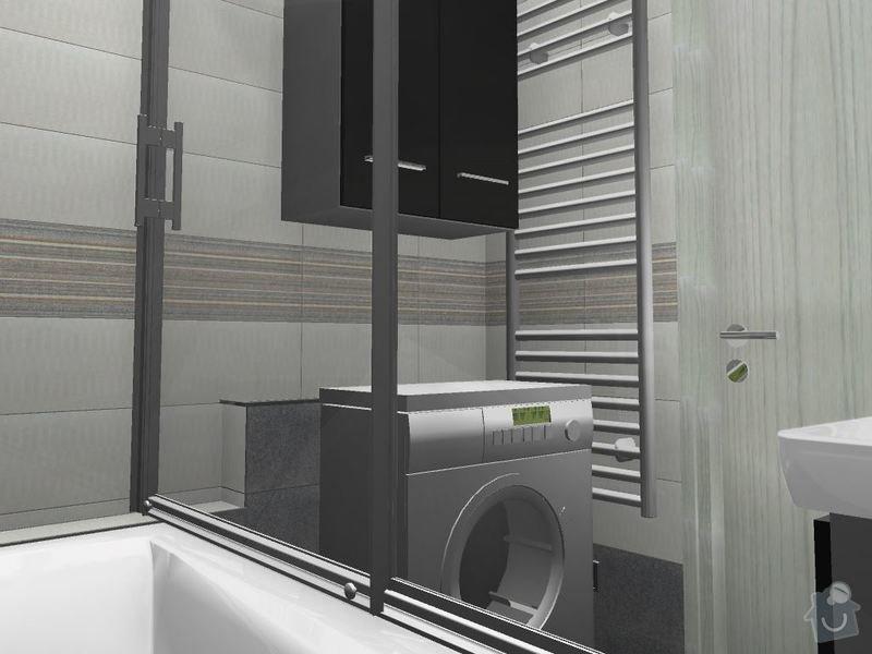 Kompletní rekonstrukce koupelny a toalety: 3D-05