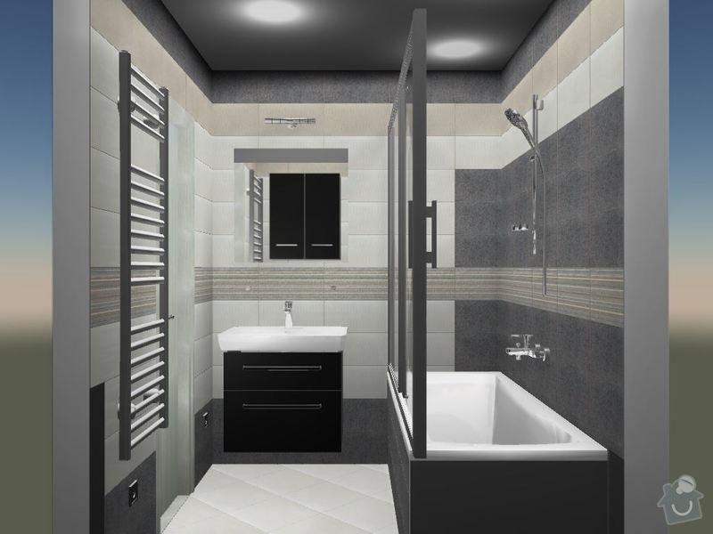 Kompletní rekonstrukce koupelny a toalety: 3D-07