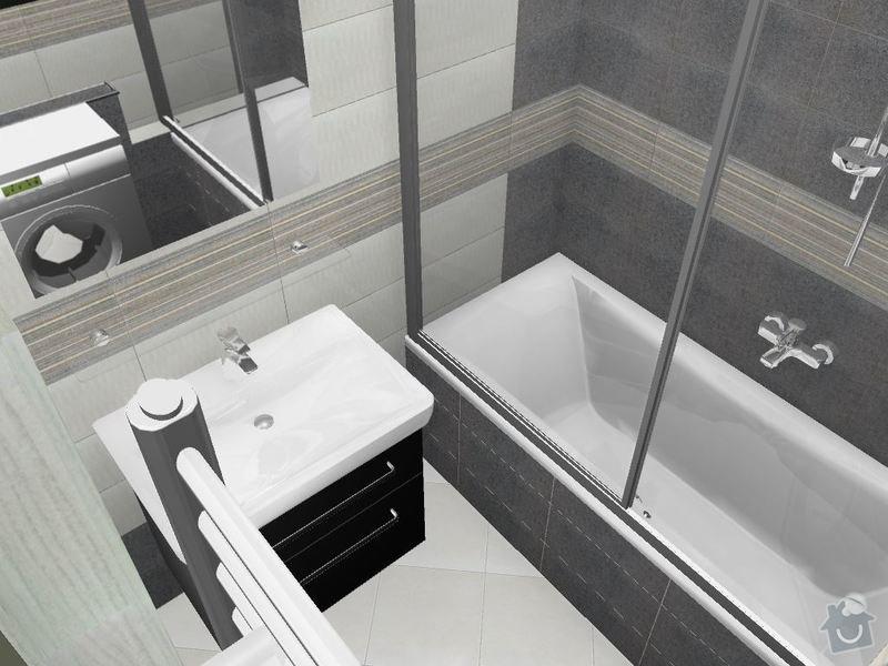 Kompletní rekonstrukce koupelny a toalety: 3D-09