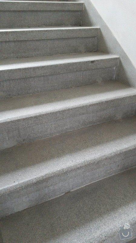 Broušení a renovace starých kamenných schodů z litého teraca: ukazka_schodiste