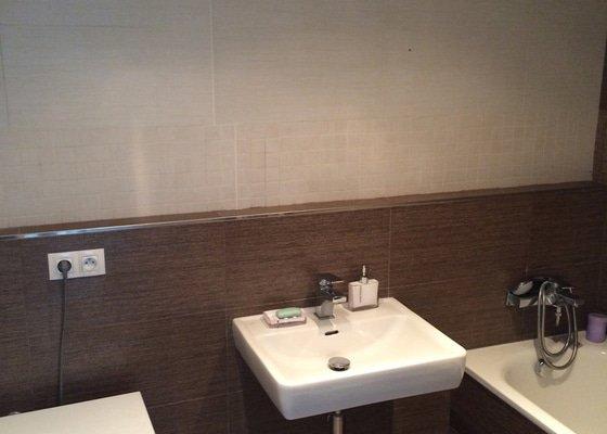 Koupelnova skrinka, zrcadlo, osvetleni