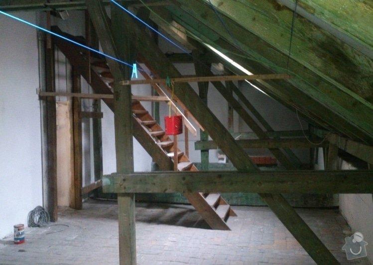 Architektonický návrh - rekonstrukce půdního prostoru: 5527c71b4c23c12f41390200