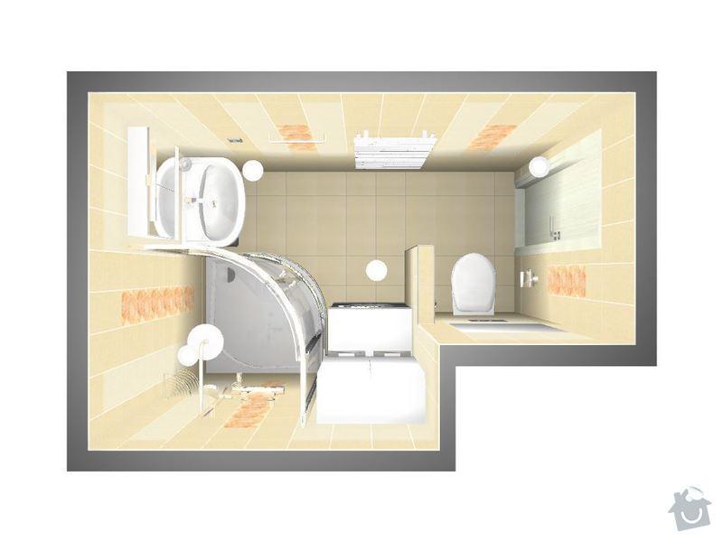 Kompletní rekonstrukce bytové jednotky 3+1: 3D-01