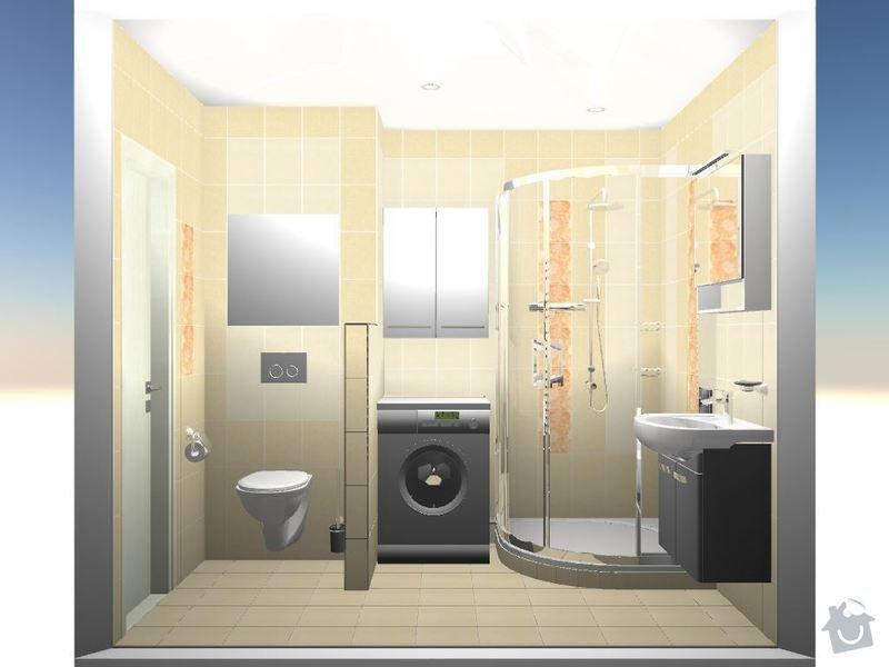 Kompletní rekonstrukce bytové jednotky 3+1: 3D-04