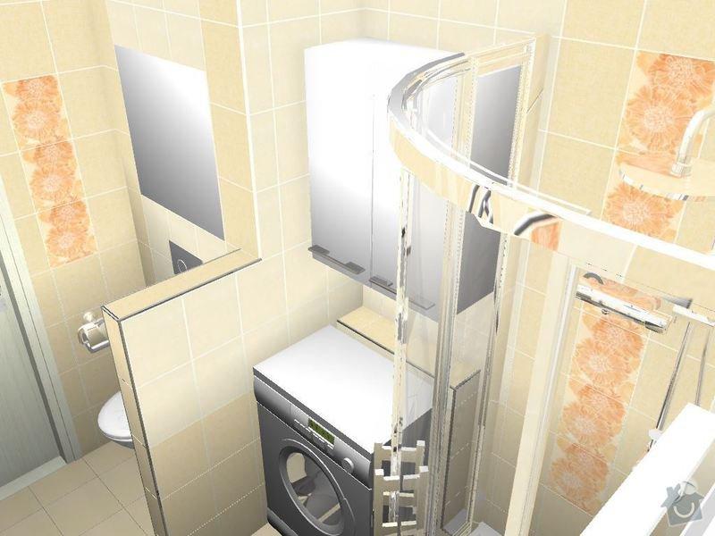 Kompletní rekonstrukce bytové jednotky 3+1: 3D-06