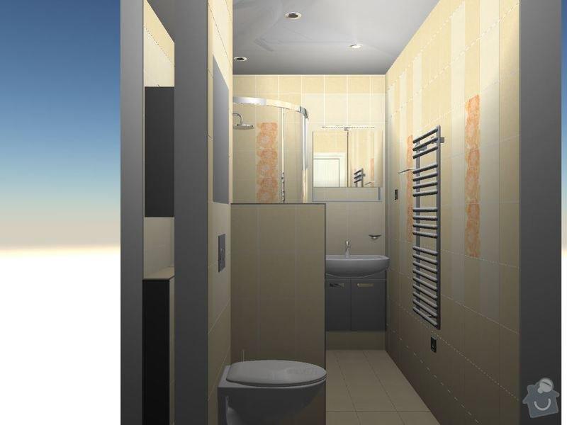Kompletní rekonstrukce bytové jednotky 3+1: 3D-09