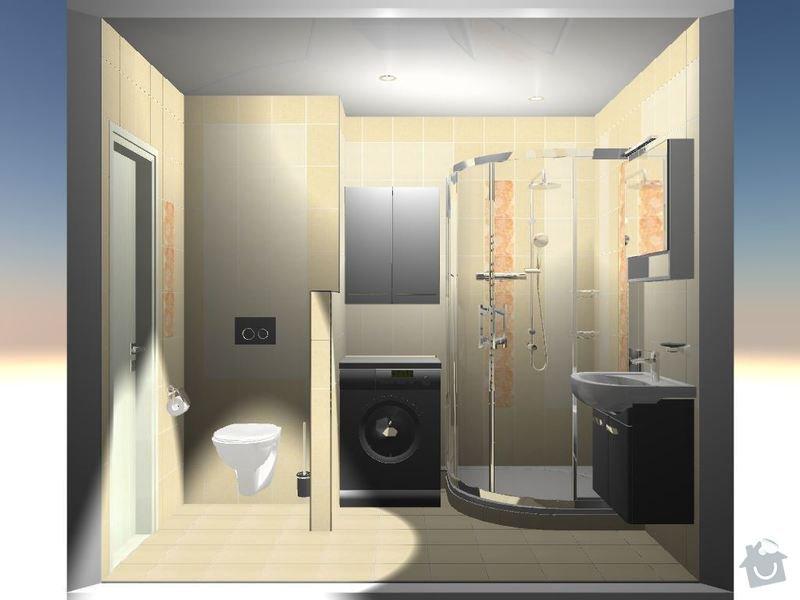 Kompletní rekonstrukce bytové jednotky 3+1: 3D-10