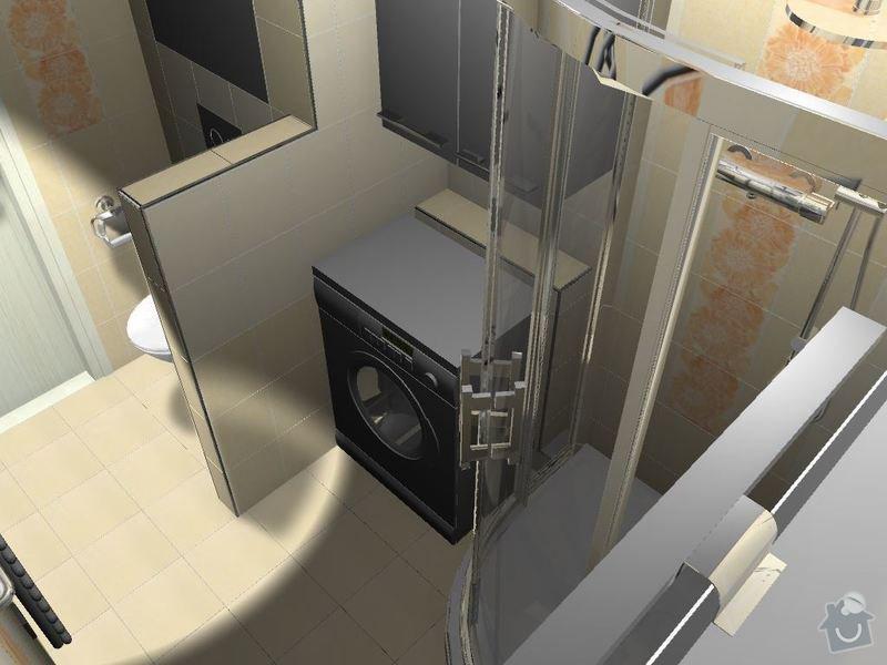 Kompletní rekonstrukce bytové jednotky 3+1: 3D-11