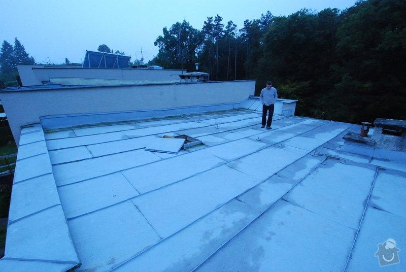 Rekonstrukci/výměnu pláště ploché střechy s obrácenou skladbou: DSC_4790