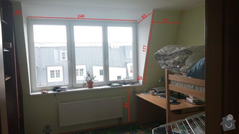Malíři - oprava špalet u oken: detsky
