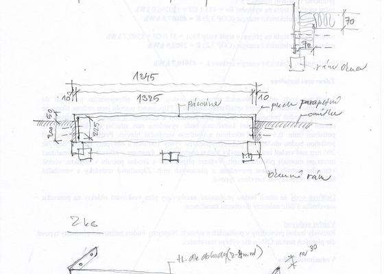 Zámečnické práce_výroba jednoduché okenní ohrádky na truhlíky
