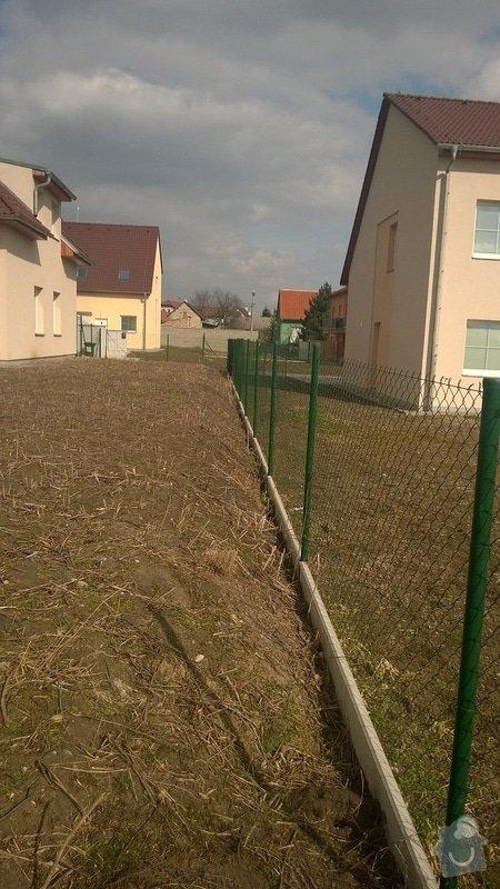 Zorání zahrady, dorovnání: WP_20150307_001