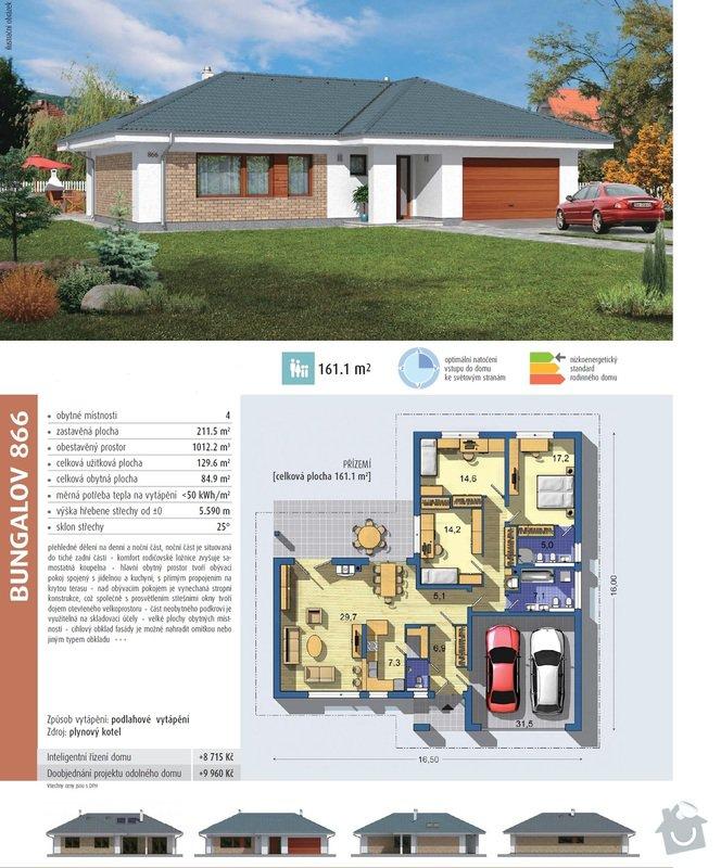 Výstavbu rodinné domu na klíč ( bungalov ): Bungalov_866