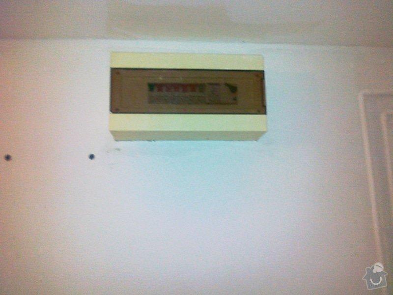 Elektroinstalační práce: 250320151430