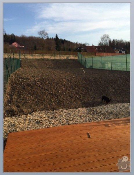 Terenni upravy pro vysetí trávníku: zahrada2