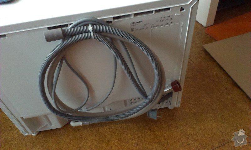 Zapojení stolní myčky, potřebné úpravy napojení na vodu (výměna roháčku?): IMAG1056