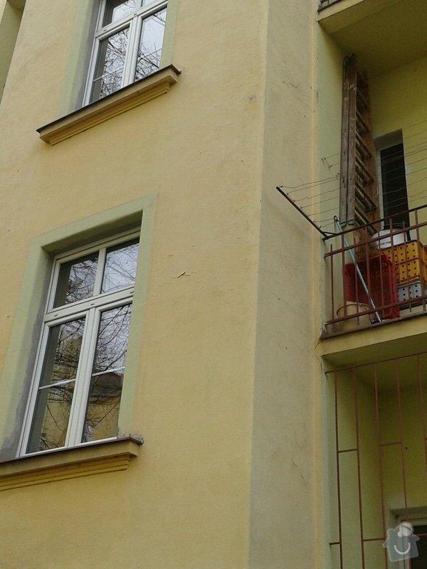 Oprava fasády činžovního domu: 20150311_113640