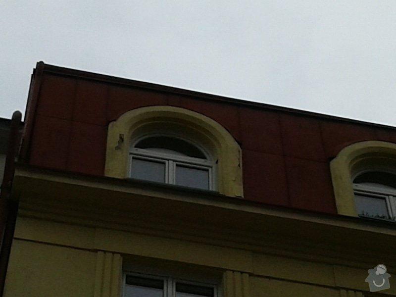 Oprava fasády činžovního domu: 20150313_132251