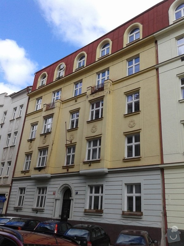 Oprava fasády činžovního domu: 20150311_113401