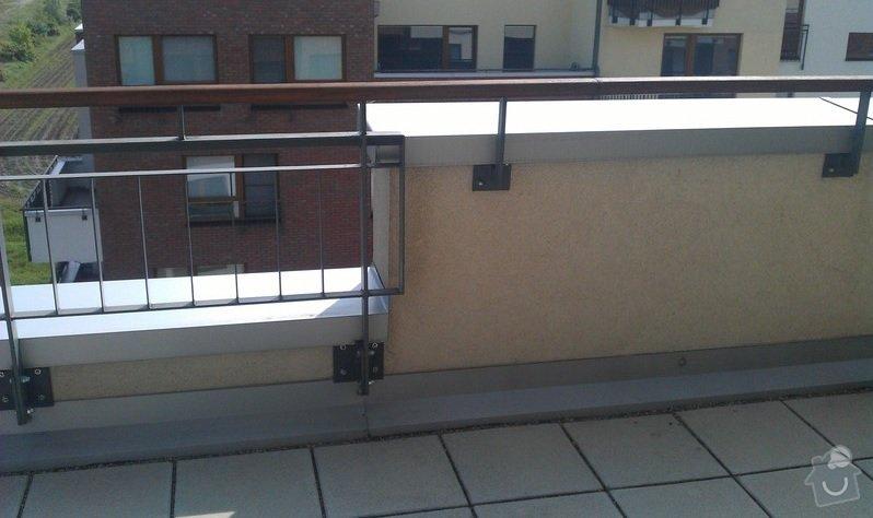 Uprava zabradli na terase proti vetru/pohledum: zabradli_1