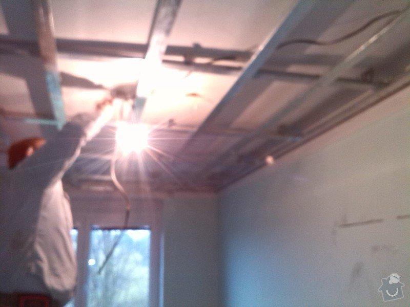 Snížení stropu sádrokartonem: 106