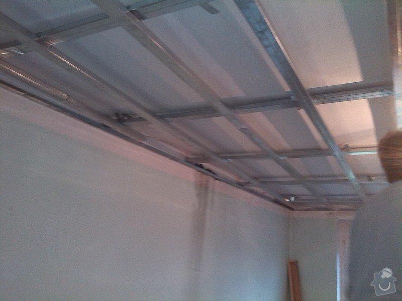 Snížení stropu sádrokartonem: 107
