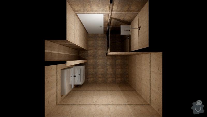 Obkladačské práce koupelna + wc cca 10m2 podlahové plochy: Kuliskova_Koupelna_khadi_var2_1