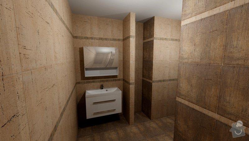 Obkladačské práce koupelna + wc cca 10m2 podlahové plochy: Kuliskova_Koupelna_khadi_var2_2