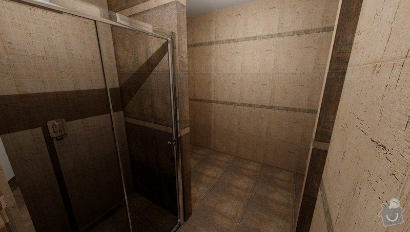 Obkladačské práce koupelna + wc cca 10m2 podlahové plochy: Kuliskova_Koupelna_khadi_var2_3