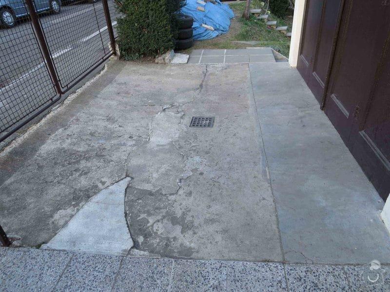 Rekonstrukce betonové plochy před garáží 11 m2 : IMG_5534_betonU