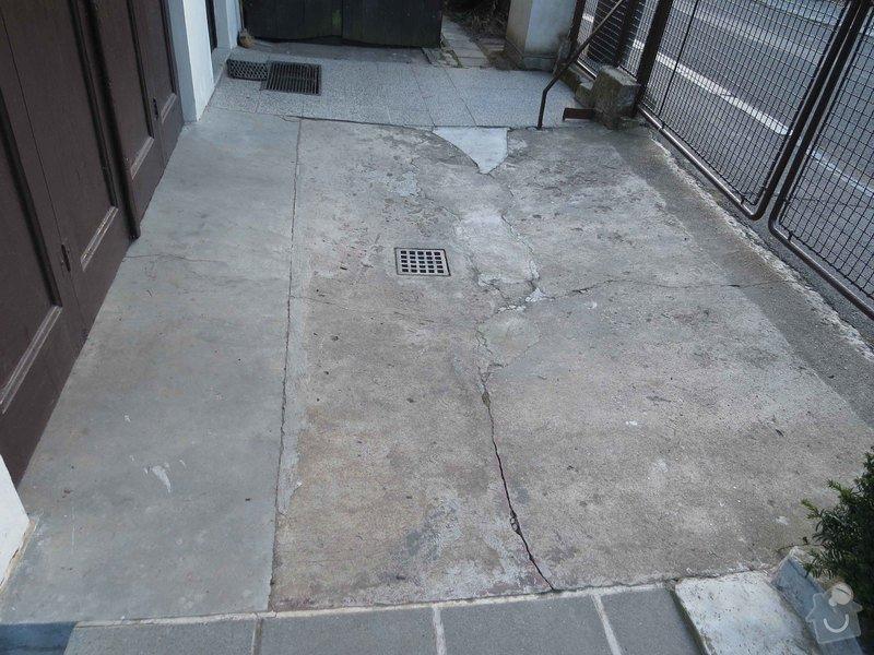 Rekonstrukce betonové plochy před garáží 11 m2 : IMG_5533_betonU