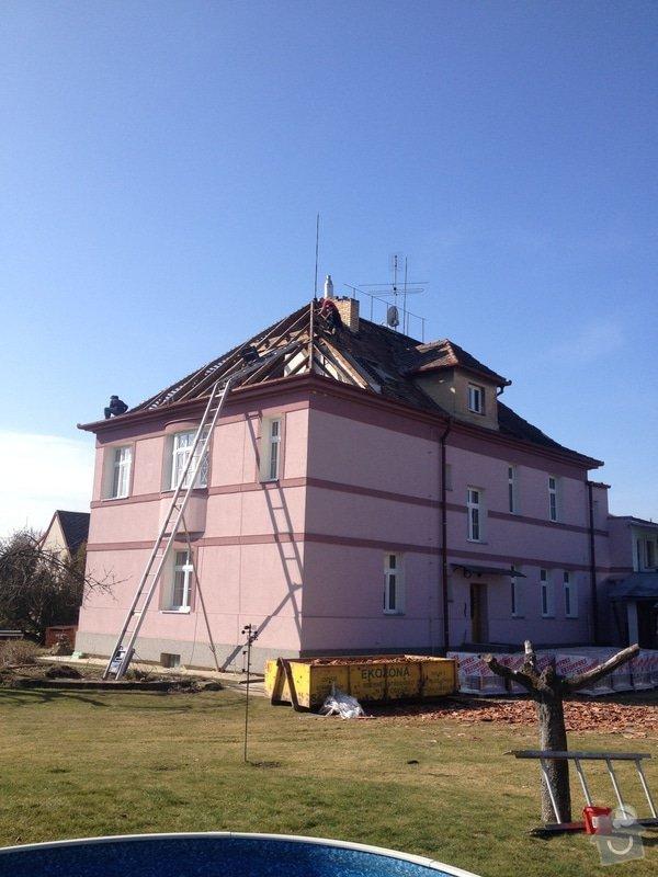 Rekonstrukce vily Rudolfov: IMG_1340