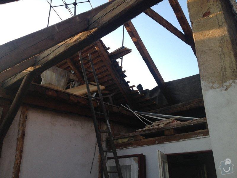 Rekonstrukce vily Rudolfov: IMG_1346