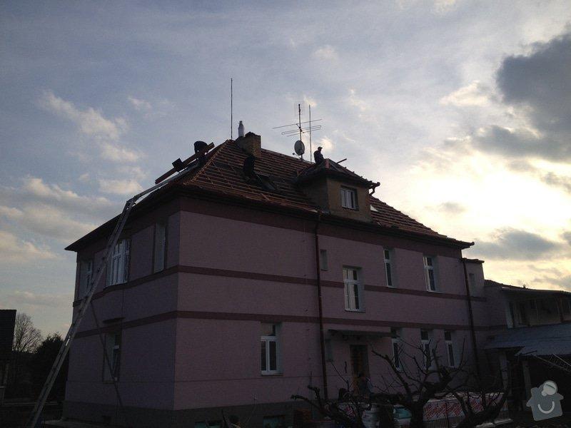 Rekonstrukce vily Rudolfov: IMG_1353