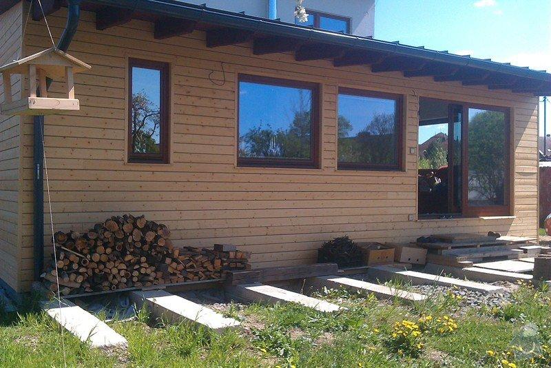 Dřevěnou verandu cca 9x3m: IMAG1271