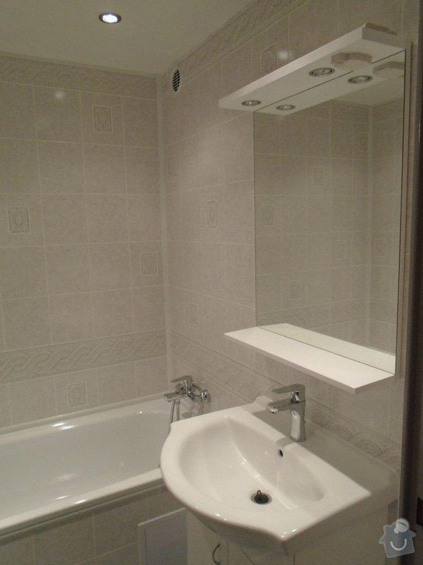 Renovace koupelny,novou kuchyňskou linku: DSC00072