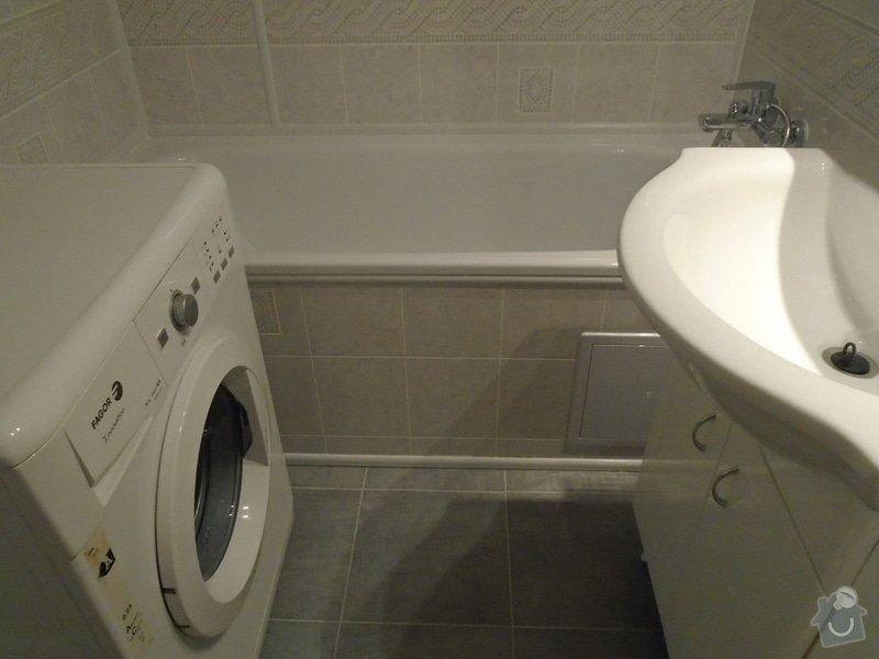 Renovace koupelny,novou kuchyňskou linku: DSC00077