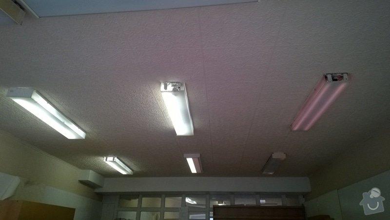 Sádrokartonová předstěna a strop pro obchod: WP_20150416_17_58_15_Pro