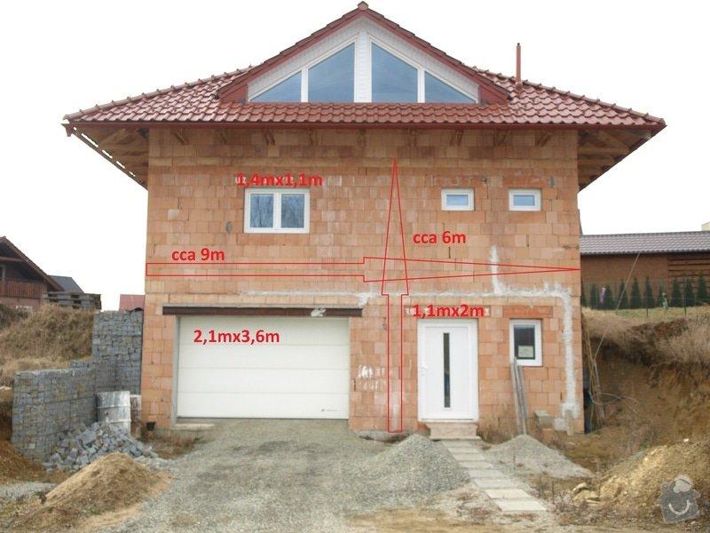 Zhotovení fasády: Predni_strana