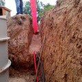 Stavba oploceni vyroba podlahy v drevostavbe masiv a vodovod  img 20140621 113658