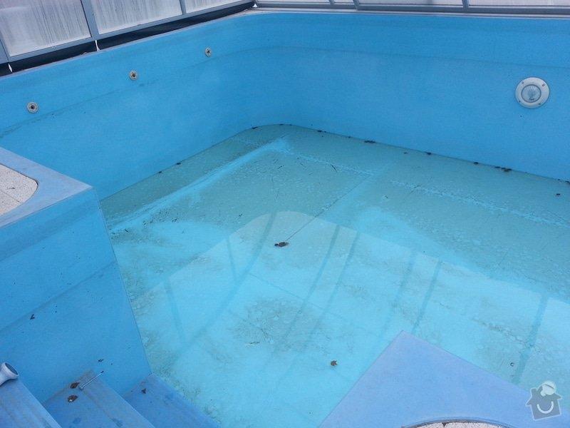 Vyfóliování plastového bazénu: 20150311_140855