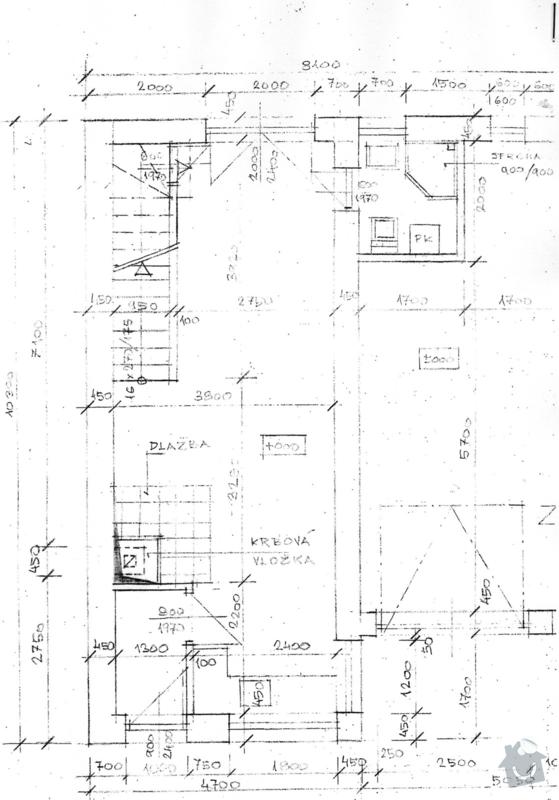 Zpracování cenové nabídky přístavby rodinného domu v Bystrovanech: pudorys_1.NP_-_prizemi