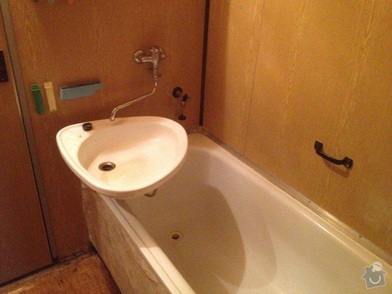 Rekonstrukce bytového jádra, stavební úpravy kuchyně, obložky: 1