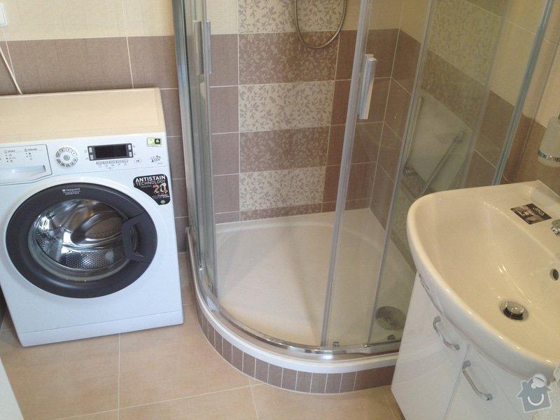 Rekonstrukce bytového jádra, stavební úpravy kuchyně, obložky: 2