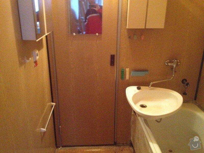 Rekonstrukce bytového jádra, stavební úpravy kuchyně, obložky: 3