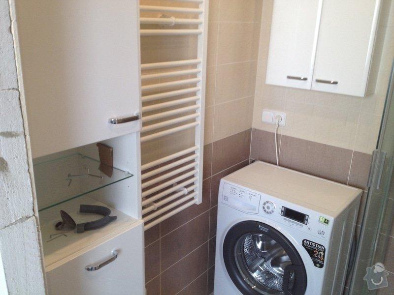 Rekonstrukce bytového jádra, stavební úpravy kuchyně, obložky: 5