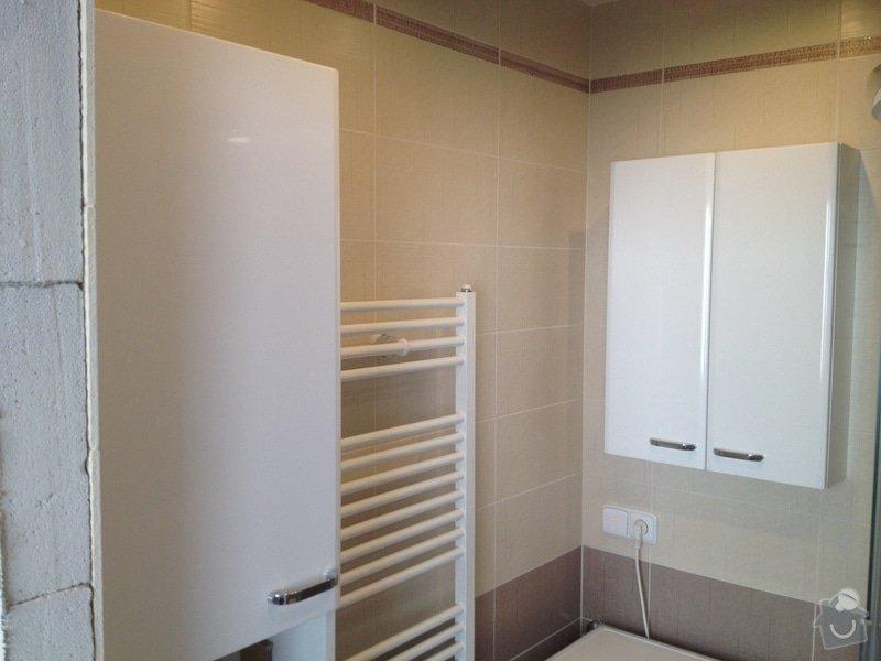 Rekonstrukce bytového jádra, stavební úpravy kuchyně, obložky: 6