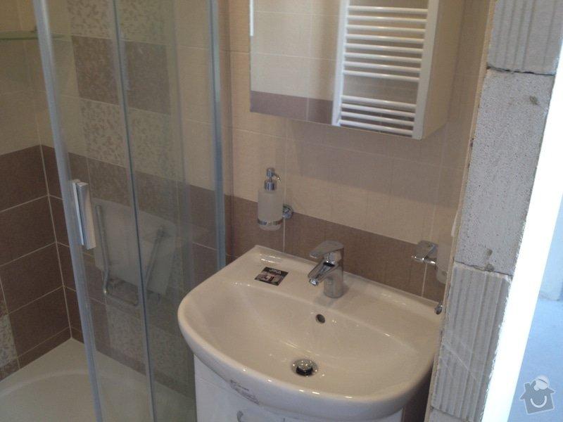 Rekonstrukce bytového jádra, stavební úpravy kuchyně, obložky: 7